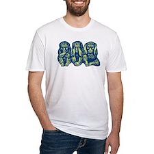 See Hear Speak No Evil Monkey Shirt