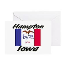 Hampton Iowa Greeting Cards (Pk of 10)