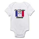 Fort Dodge Iowa Infant Bodysuit