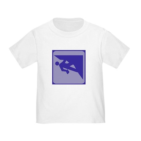 Climbing Guy Icon Toddler T-Shirt