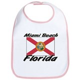 Miami Beach Florida Bib