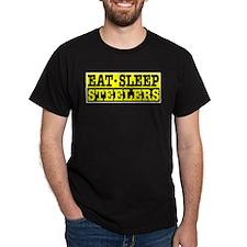 Eat Sleep Steelers T-Shirt