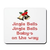 Christmas Baby Mousepad