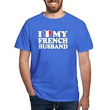 I Love My French husband T-Shirt