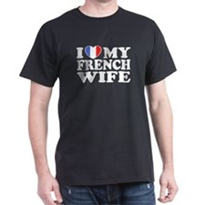 I Love My French Wife T-Shirt