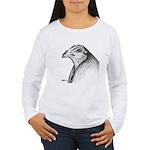 Gamecock Head Detail Women's Long Sleeve T-Shirt