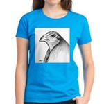 Gamecock Head Detail Women's Dark T-Shirt