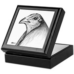Gamecock Head Detail Keepsake Box