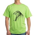 Gamecock Head Detail Green T-Shirt