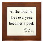 Plato 10 Framed Tile