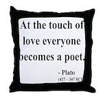 Plato 10 Throw Pillow