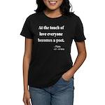 Plato 10 Women's Dark T-Shirt