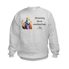 Plato 12 Kids Sweatshirt