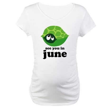 June Baby Due Date Maternity T-Shirt