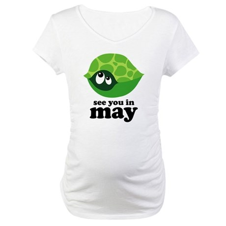 May Due Date Maternity T-Shirt