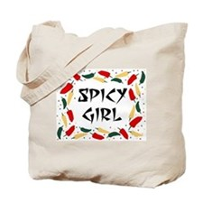 SPICY GIRL Tote Bag