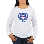 Meu Coraçao Women's Long Sleeve T-Shirt