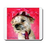 Red Hat Cairn Close-up Mousepad