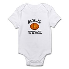 All Star Basketball Infant Bodysuit