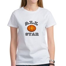 All Star Basketball Tee
