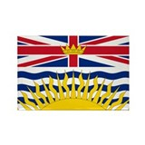BC Flag Rectangle Magnet (100 pack)