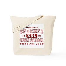 Shermer High Physics Club Tote Bag