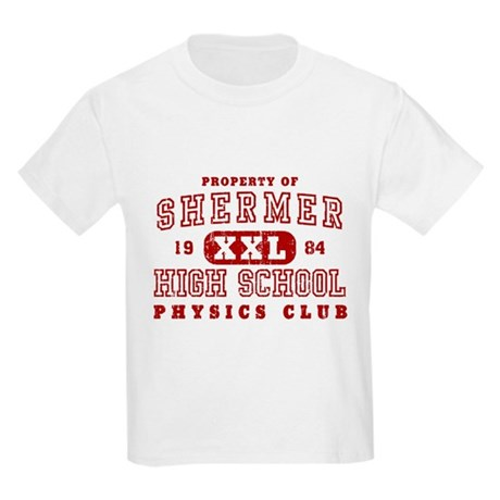 Shermer High Physics Club Kids Light T-Shirt