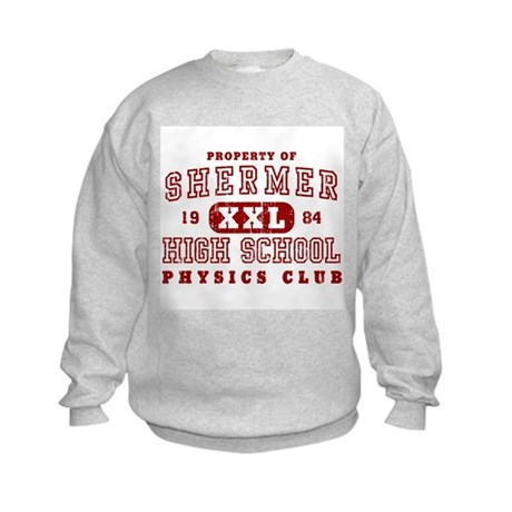 Shermer High Physics Club Kids Sweatshirt