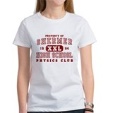 Shermer High Physics Club Tee