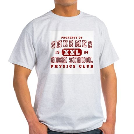 Shermer High Physics Club Light T-Shirt