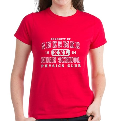Shermer High Physics Club Womens T-Shirt