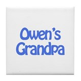 Owen's Grandpa Tile Coaster