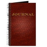 """Mosaic Tile"" (burgundy) - Journal"
