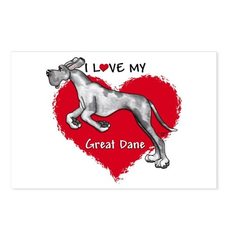 Love Merle Dane UC Postcards (Package of 8)