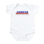 Flag American Infidel Infant Creeper
