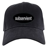 "Baseball Hat White ""Subservient"""