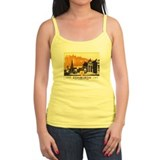Vintage Edinburgh Travel Post Ladies Top