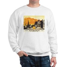 Vintage Edinburgh Travel Post Sweatshirt