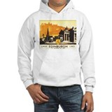Vintage Edinburgh Travel Post Jumper Hoody