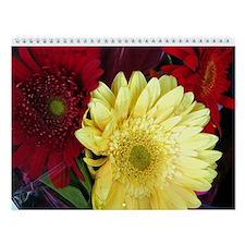 Multi Floral Wall Calendar