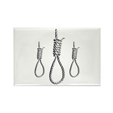 Hangman Nooses Rectangle Magnet