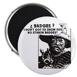 No Steeking Badges Magnet