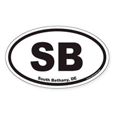 South Bethany SB Euro Oval Decal