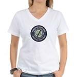 Mendocino Joint Task Force Women's V-Neck T-Shirt