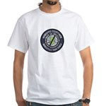 Mendocino Joint Task Force White T-Shirt