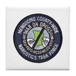 Mendocino Joint Task Force Tile Coaster