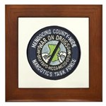 Mendocino Joint Task Force Framed Tile