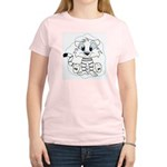 Baby Tiger Women's Pink T-Shirt