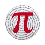 Pi Ornament (Round)
