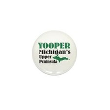 Yooper Michigan's U.P. Mini Button (10 pack)